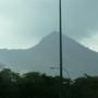 San Salvador's volcano.