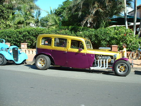 2003 Purple/Gold Custom Car