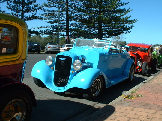2003 Blue Custom Car Coupe