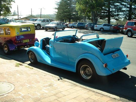 2003 Blue Custom Car