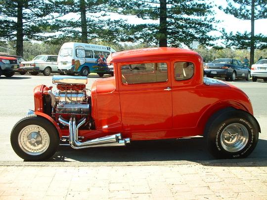 2003 Orange Custom Car