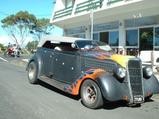 2003 Gray Custom Car. Front View