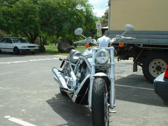 Harley coming atcha 2003