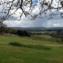 image View from Newlands Corner, a beauty spot in Surrey.