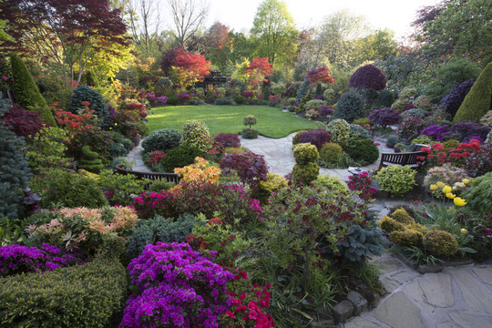 Four Seasons garden on 14 May 2016