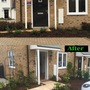 Before and after front garden