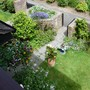 A view of the front garden from upstairs