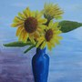 Sunflowers in oils
