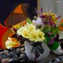 Just a Fall arrangement with background Painting