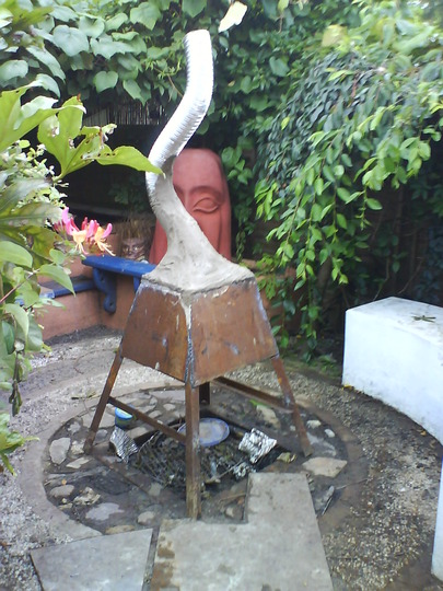 elephant chimnea