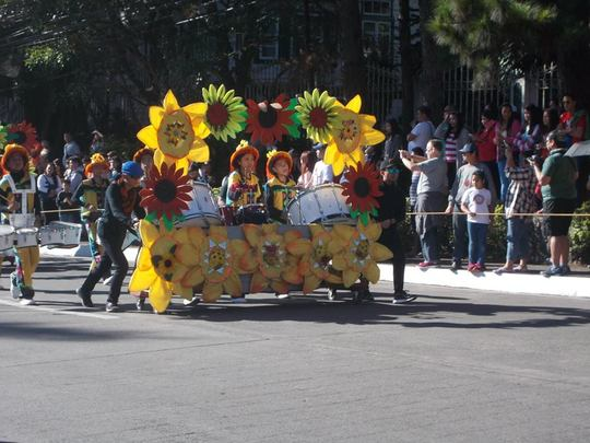 flower festival in  Baguio, Philippines