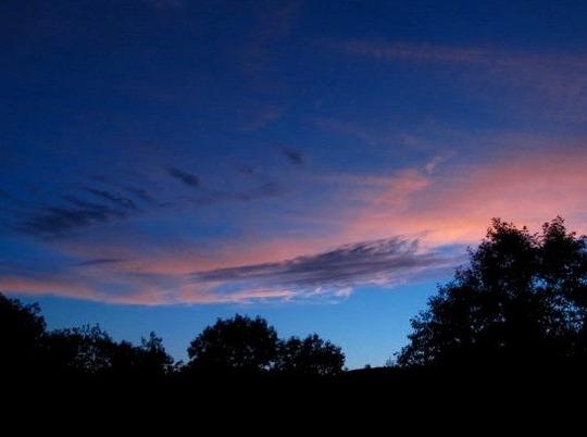 Sunset over Pawlet VT