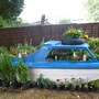 Boat planted up