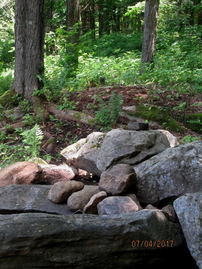 the rock pile...