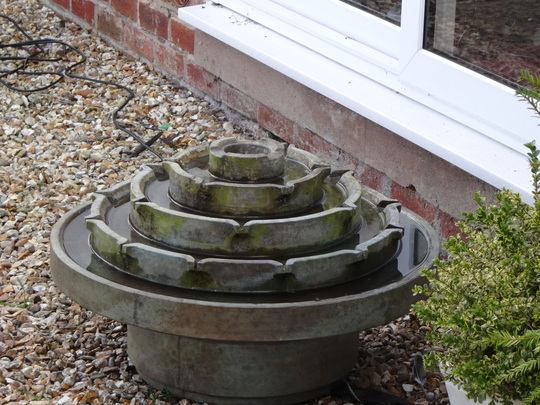 My new water feature.