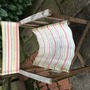 old tatty garden chair