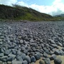 lovely Cobbles on beach in Wales