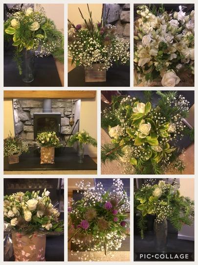 This weeks floristry work.