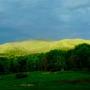 Spring Vt. mountain light
