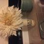 large dahlia flower