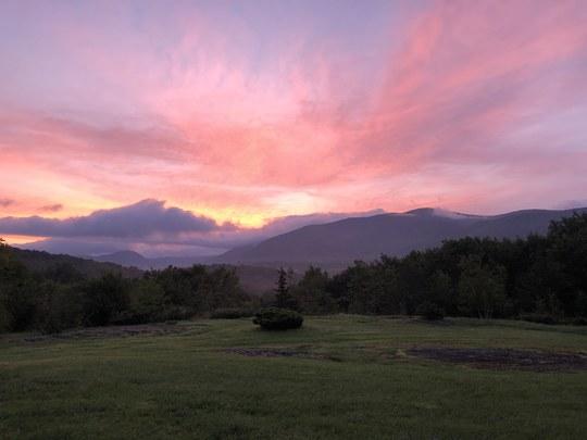 Sunrise in VT August