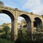 The viaduct in Knaresborough, Yorks.