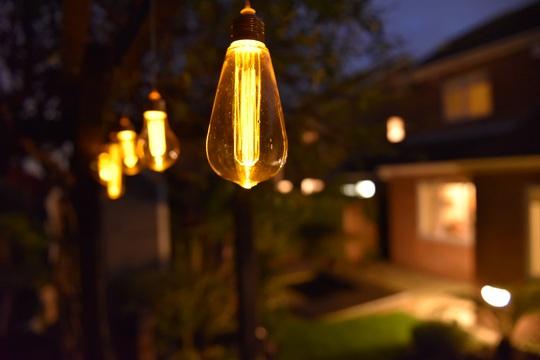 Garden solar lighting