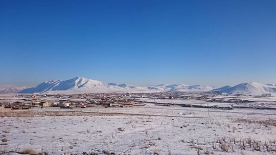 Winter again in our village, Sarbandan...