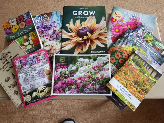 My top catalogues.....