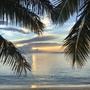 Sunset on Yasawa island