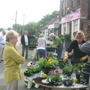 Community Basket Planting in Cleadon
