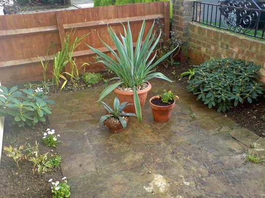 front garden revamp autumn 07