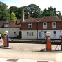 Petrol pumps in Thursley village