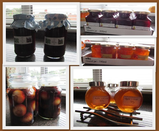 Preserves and marmalade