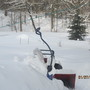 Snowblower needs an auger cable... just in time for the biggest storm of the winter.