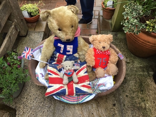 My teddies are ready for our village VE Day celebrations tomorrow !
