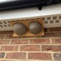 New house martin nest boxes.