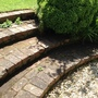 I weeded our old steps today!