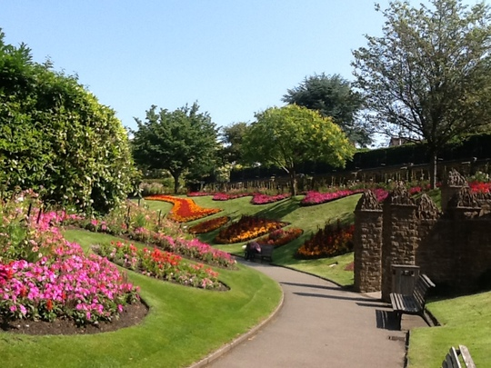 Guildford Castle Gardens.