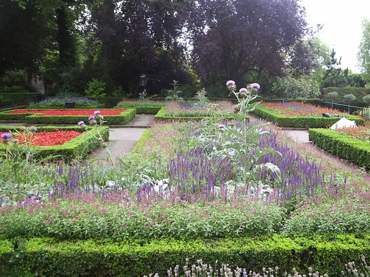 The Formal Garden, Holland Park, London