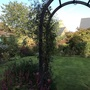 Garden going over.
