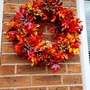 Saturday project - making an autumnal wreath.