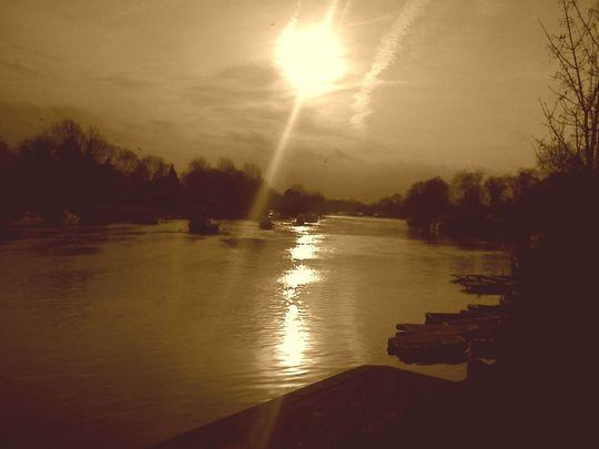 Riverside at Sunbury-on-Thames
