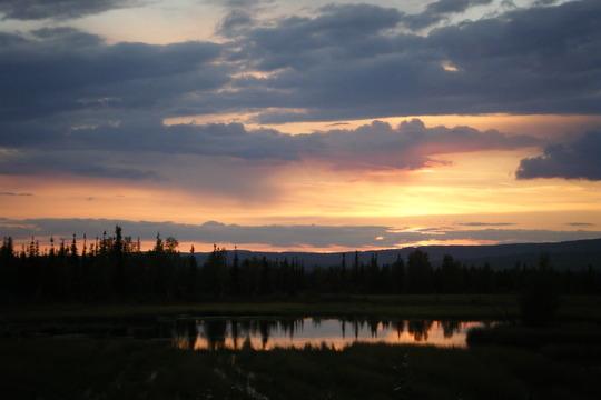 Sunset on Nardale