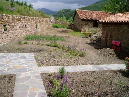 Garden in Spring 2008