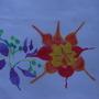 Flowers - Oil pastels