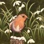 Snowdrop & Robin