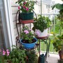 Closer view of my new plant stand