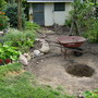 levelled circle and pit