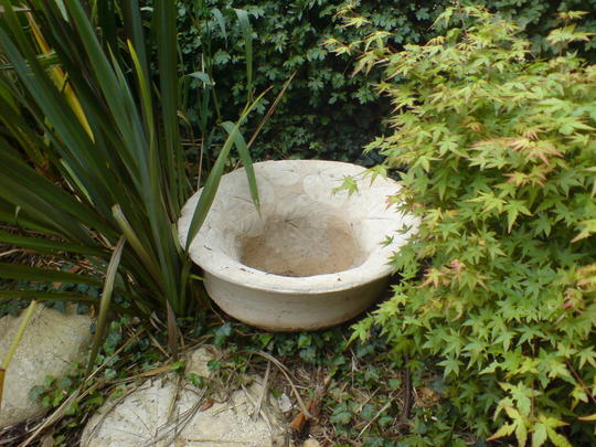 my concrete planter